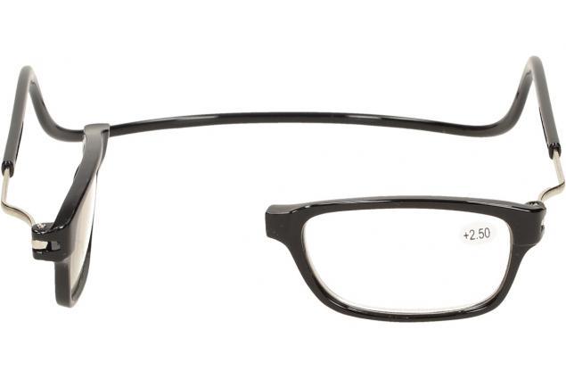 Foto 9 - Dioptrické brýle s magnetem černé +2,50