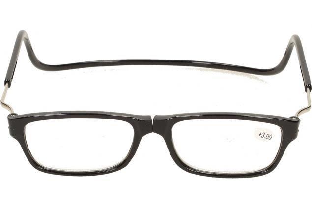 Foto 2 - Dioptrické brýle s magnetem černé +3,00