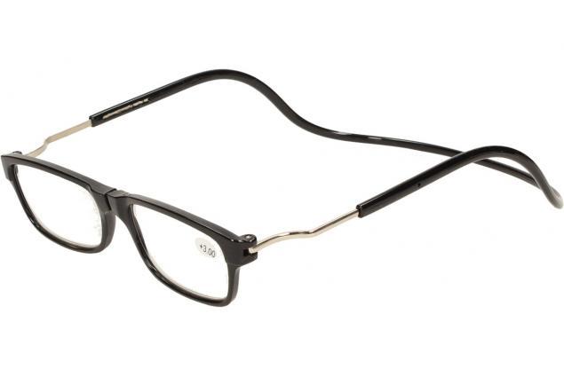 Foto 3 - Dioptrické brýle s magnetem černé +3,00
