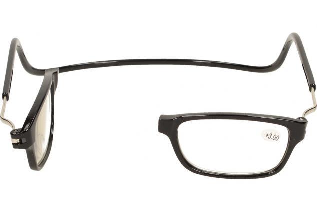 Foto 7 - Dioptrické brýle s magnetem černé +3,00