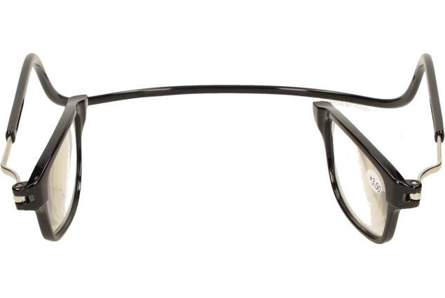 Foto 9 - Dioptrické brýle s magnetem černé +3,00
