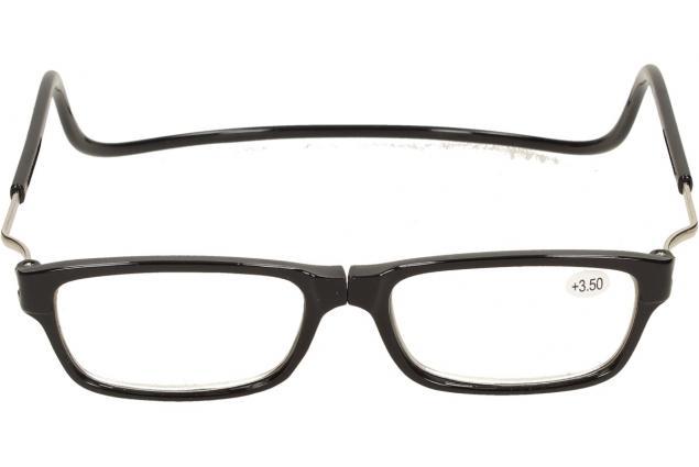 Foto 3 - Dioptrické brýle s magnetem černé +3,50
