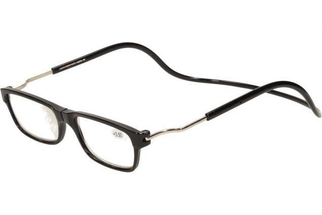 Foto 4 - Dioptrické brýle s magnetem černé +3,50