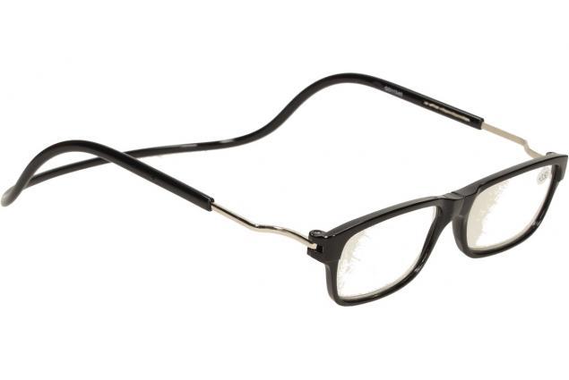 Foto 7 - Dioptrické brýle s magnetem černé +3,50