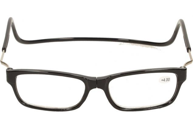 Foto 3 - Dioptrické brýle s magnetem černé +4,00