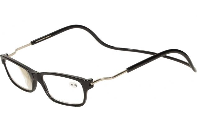 Foto 4 - Dioptrické brýle s magnetem černé +4,00
