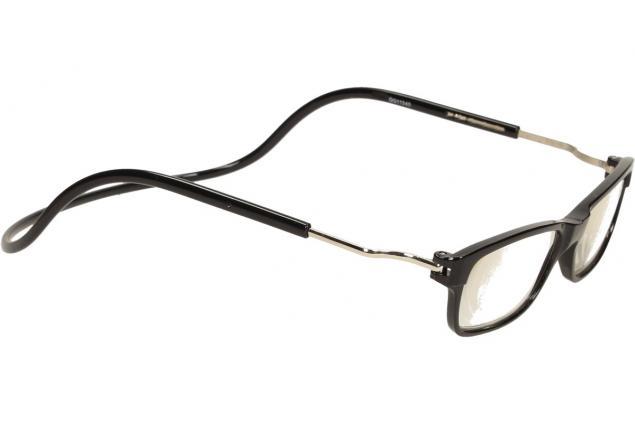 Foto 7 - Dioptrické brýle s magnetem černé +4,00