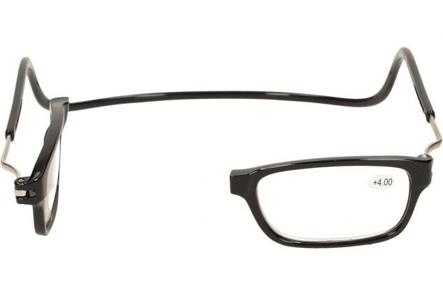 Foto 8 - Dioptrické brýle s magnetem černé +4,00