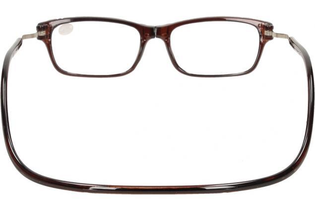 Foto 5 - Dioptrické brýle s magnetem hnědé +1,00