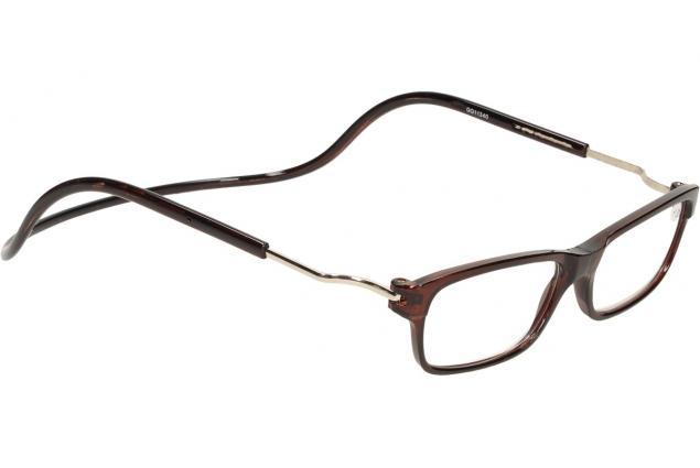 Foto 6 - Dioptrické brýle s magnetem hnědé +1,00