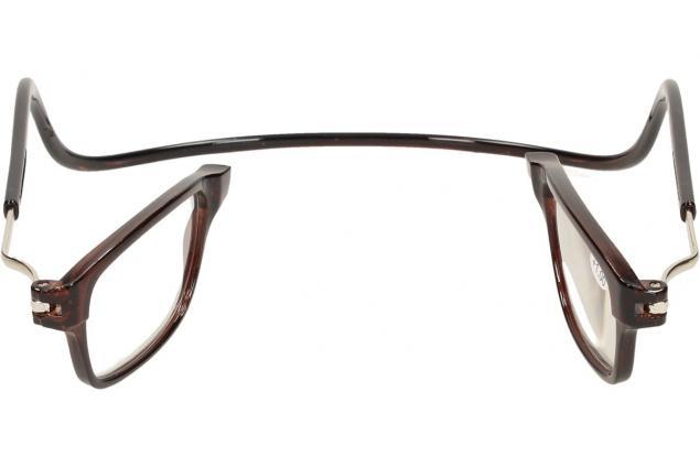 Foto 8 - Dioptrické brýle s magnetem hnědé +1,00