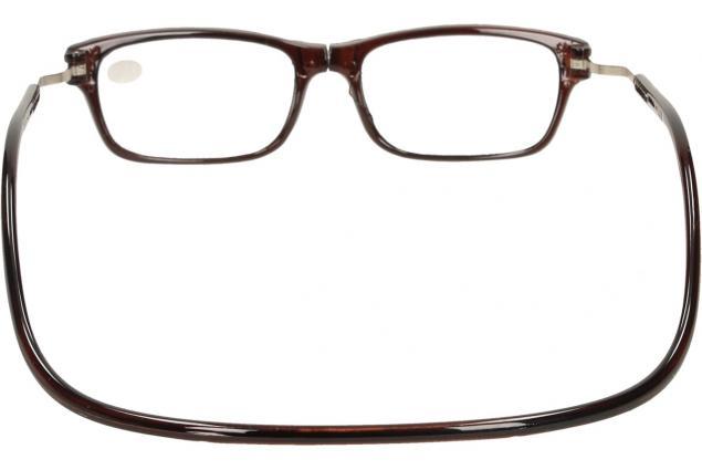 Foto 5 - Dioptrické brýle s magnetem hnědé +1,50