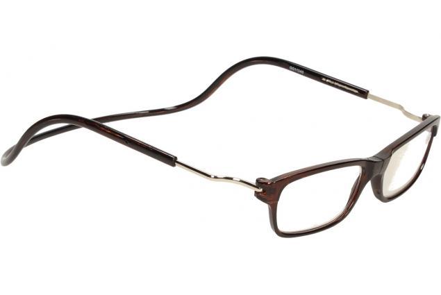 Foto 6 - Dioptrické brýle s magnetem hnědé +1,50