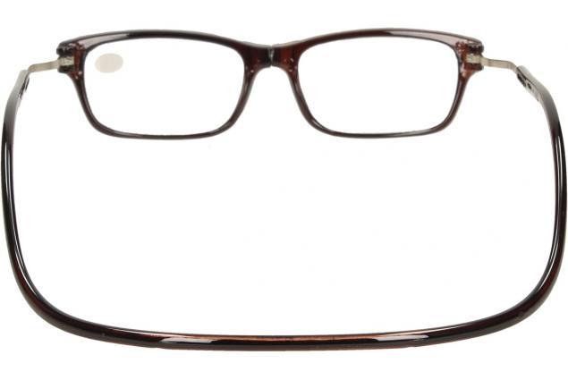 Foto 6 - Dioptrické brýle s magnetem hnědé +2,50