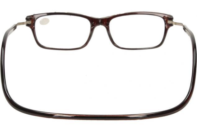 Foto 5 - Dioptrické brýle s magnetem hnědé +3,00