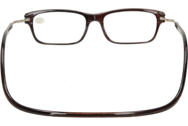 Foto 5 - Dioptrické brýle s magnetem hnědé +4,00