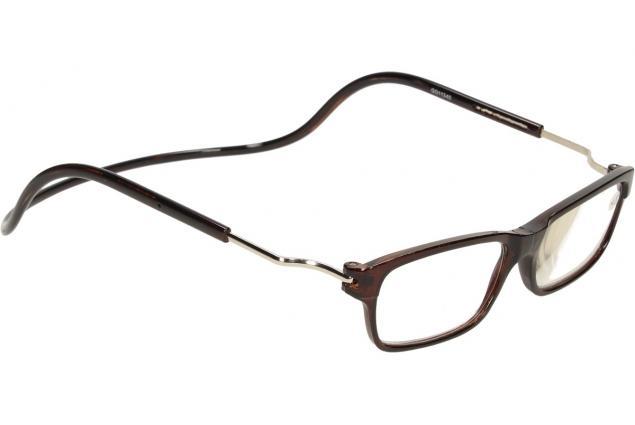 Foto 6 - Dioptrické brýle s magnetem hnědé +4,00