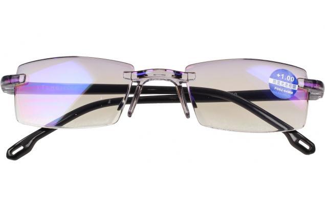 Foto 2 - Dioptrické brýle s antireflexní vrstvou černé +1,00