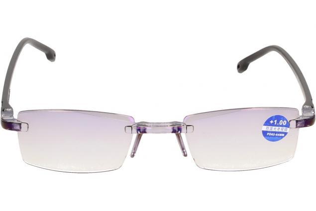 Foto 3 - Dioptrické brýle s antireflexní vrstvou černé +1,00