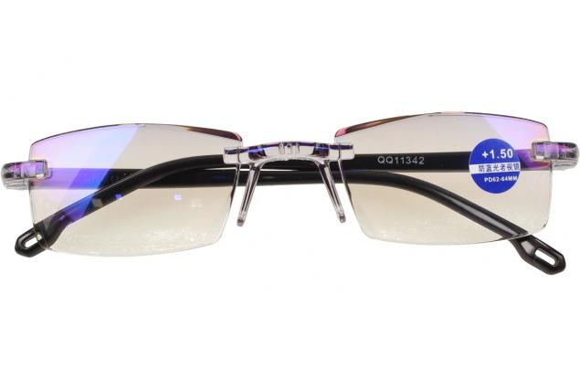 Foto 2 - Dioptrické brýle s antireflexní vrstvou černé +1,50