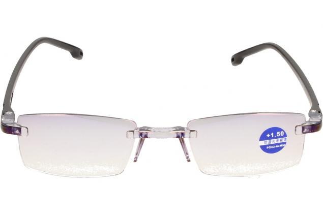 Foto 3 - Dioptrické brýle s antireflexní vrstvou černé +1,50