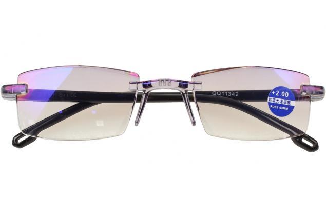 Foto 2 - Dioptrické brýle s antireflexní vrstvou černé +2,00