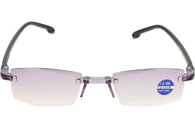 Foto 3 - Dioptrické brýle s antireflexní vrstvou černé +2,00