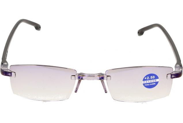 Foto 3 - Dioptrické brýle s antireflexní vrstvou černé +2,50
