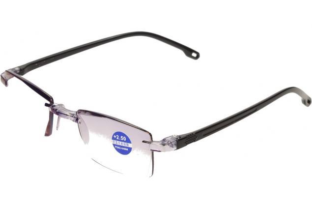 Foto 4 - Dioptrické brýle s antireflexní vrstvou černé +2,50