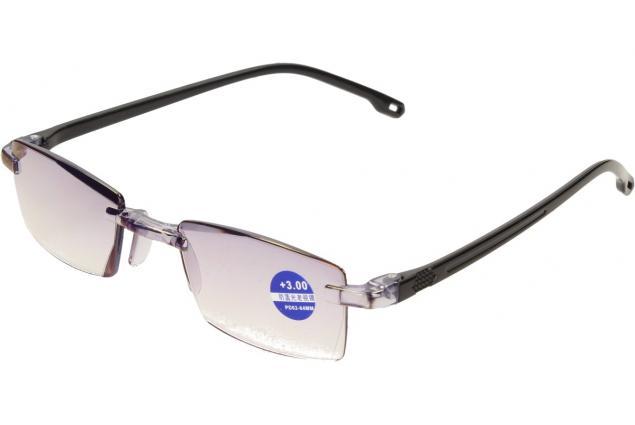 Foto 4 - Dioptrické brýle s antireflexní vrstvou černé +3,00