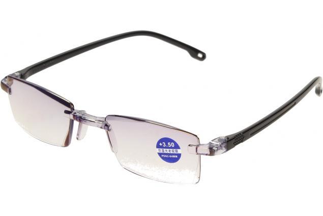 Foto 4 - Dioptrické brýle s antireflexní vrstvou černé +3,50