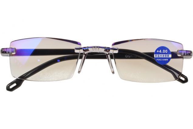 Foto 2 - Dioptrické brýle s antireflexní vrstvou černé +4,00