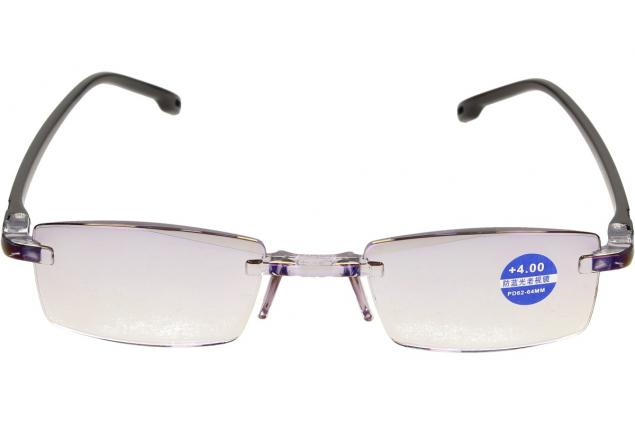 Foto 3 - Dioptrické brýle s antireflexní vrstvou černé +4,00