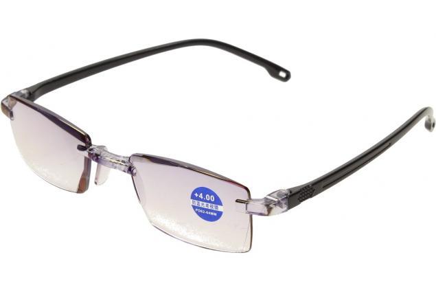 Foto 4 - Dioptrické brýle s antireflexní vrstvou černé +4,00