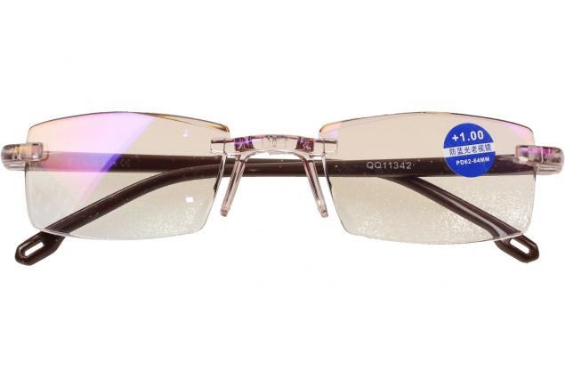 Foto 2 - Dioptrické brýle s antireflexní vrstvou hnědé +1,00