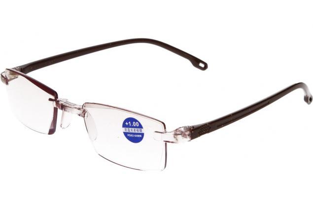 Foto 4 - Dioptrické brýle s antireflexní vrstvou hnědé +1,00