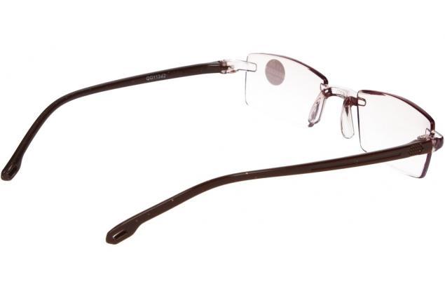 Foto 6 - Dioptrické brýle s antireflexní vrstvou hnědé +1,00
