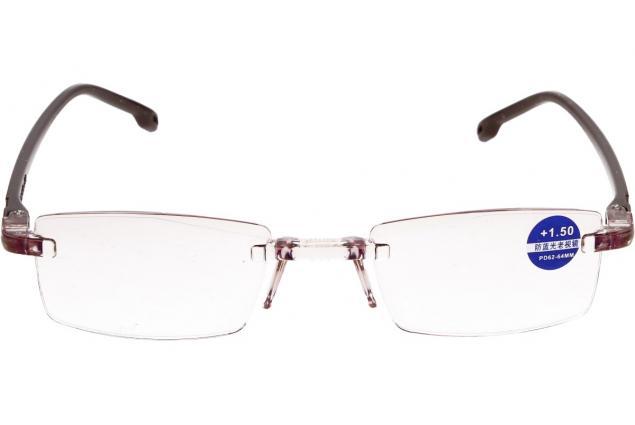 Foto 3 - Dioptrické brýle s antireflexní vrstvou hnědé +1,50