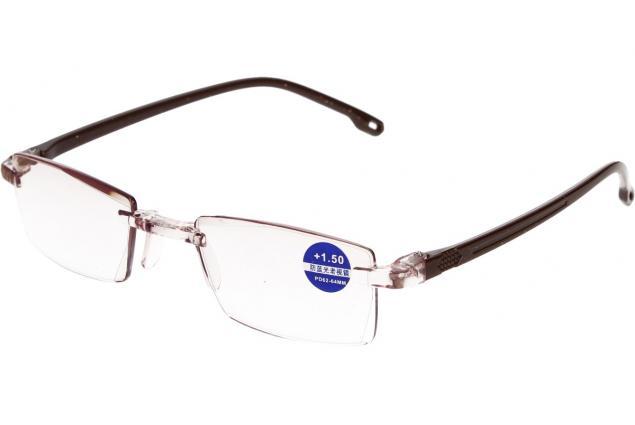Foto 4 - Dioptrické brýle s antireflexní vrstvou hnědé +1,50