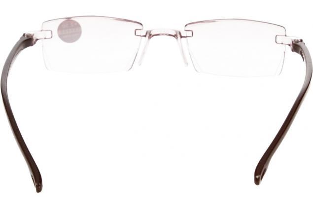 Foto 5 - Dioptrické brýle s antireflexní vrstvou hnědé +2,50
