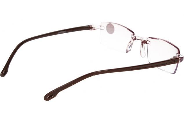 Foto 6 - Dioptrické brýle s antireflexní vrstvou hnědé +2,50