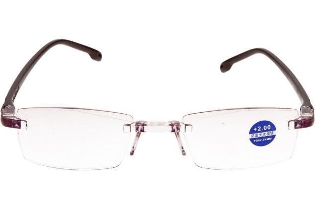 Foto 3 - Dioptrické brýle s antireflexní vrstvou hnědé +2,00