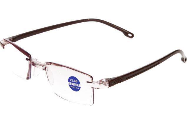 Foto 4 - Dioptrické brýle s antireflexní vrstvou hnědé +2,00