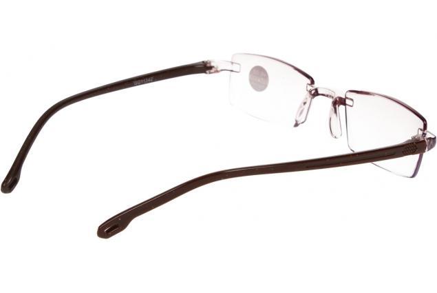 Foto 6 - Dioptrické brýle s antireflexní vrstvou hnědé +2,00