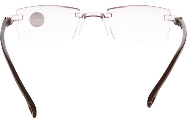 Foto 5 - Dioptrické brýle s antireflexní vrstvou hnědé +2,00
