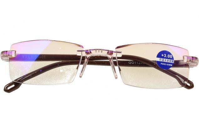 Foto 2 - Dioptrické brýle s antireflexní vrstvou hnědé +3,00