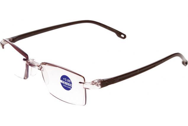 Foto 4 - Dioptrické brýle s antireflexní vrstvou hnědé +3,00