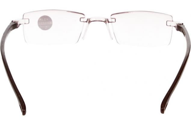 Foto 5 - Dioptrické brýle s antireflexní vrstvou hnědé +3,00