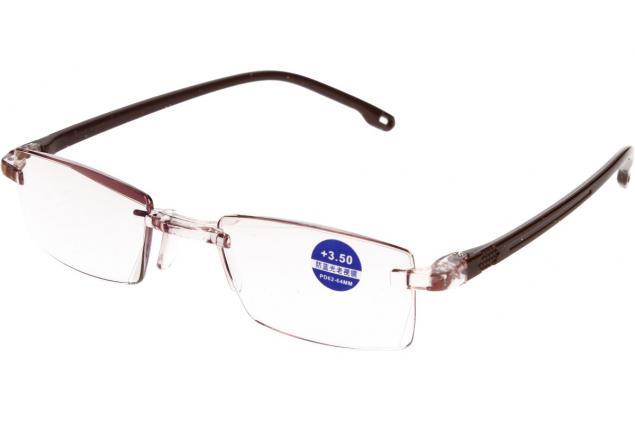 Foto 4 - Dioptrické brýle s antireflexní vrstvou hnědé +3,50