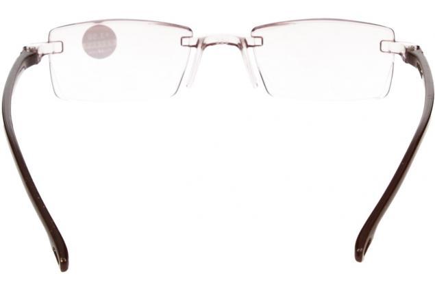 Foto 5 - Dioptrické brýle s antireflexní vrstvou hnědé +3,50